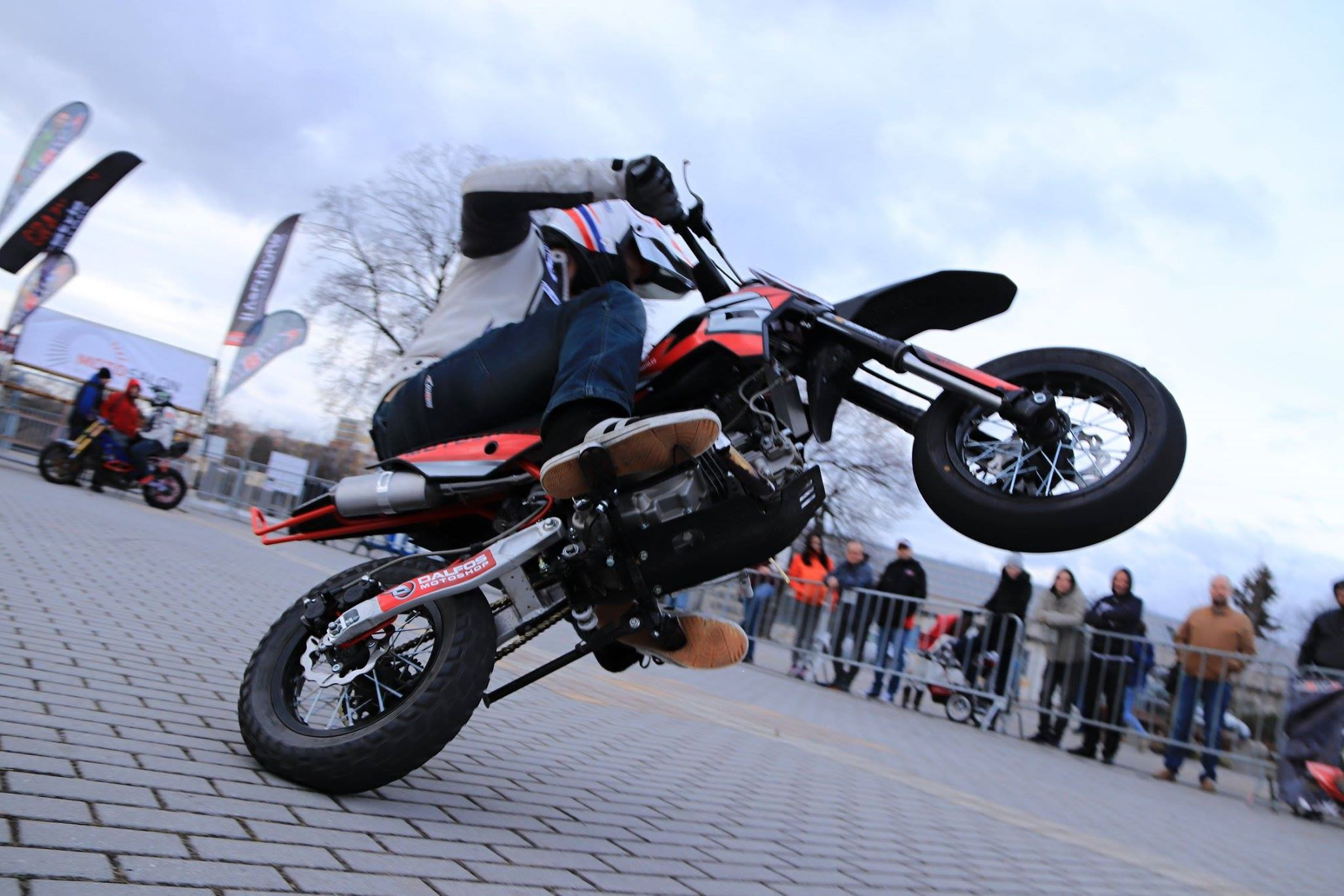 stomp motard motosalon